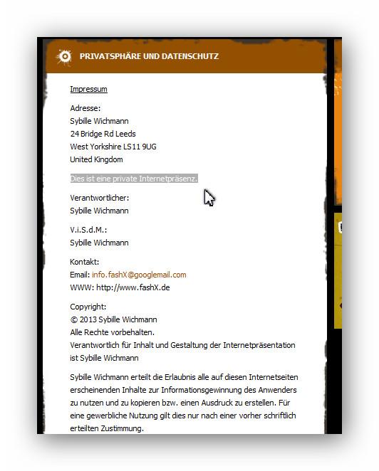 Abmahnung Abzocke Fashxde Julia Wichmann