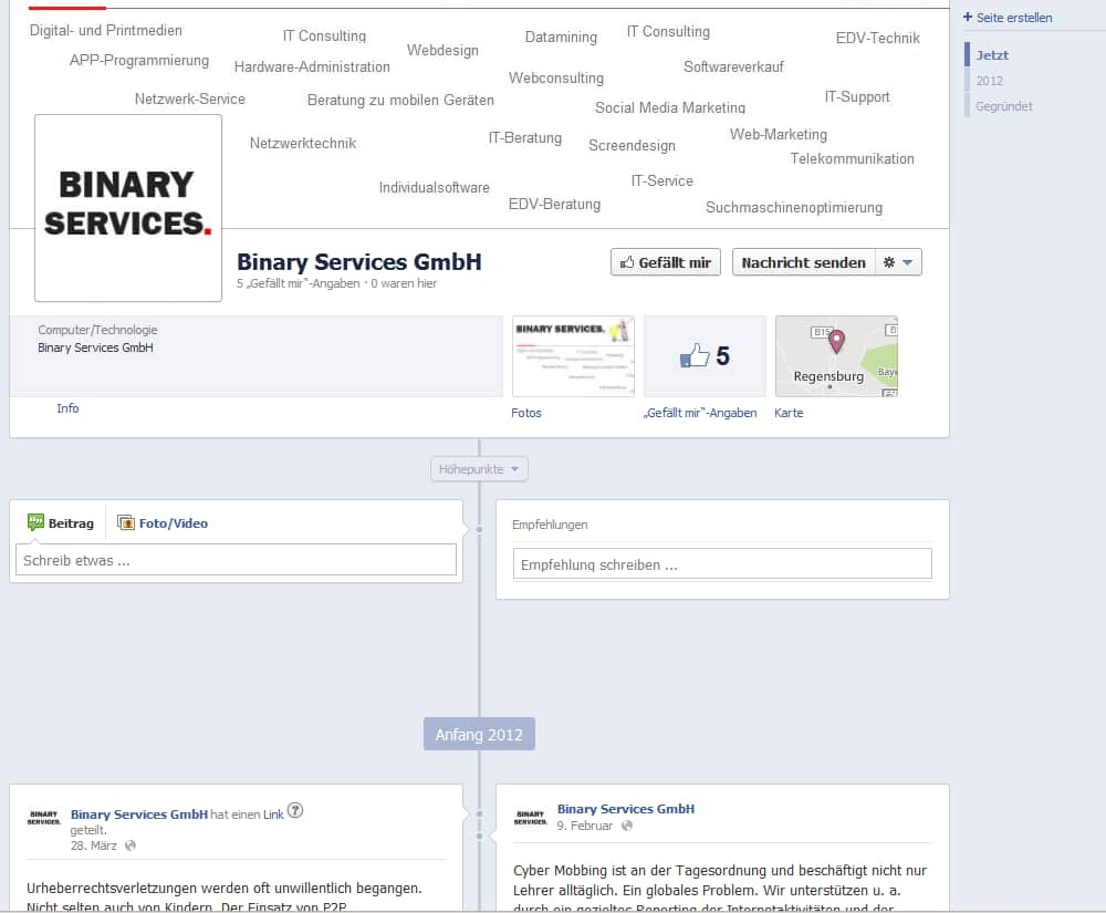 Binary Facebook III